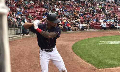 Rehabbing Twins outfielder Byron Buxton brings his game, especially his…