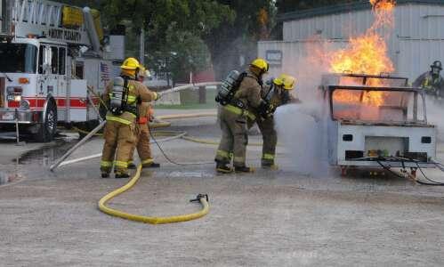 Mt. Pleasant hosts fire training