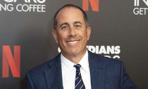 Jerry Seinfeld coming in June to Cedar Rapids