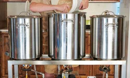 Craft beer aficionado enjoys the challenge of home brewing