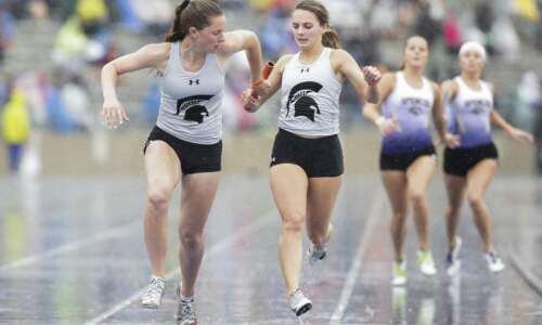 Iowa 3A girls' state track and field: Solon makes a…