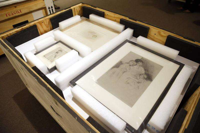 How secrecy shielded priceless paintings on their journey to the Cedar Rapids Museum of Art