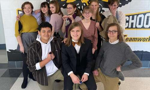 All Mid-Prairie speech competitors earn Division 1 rating