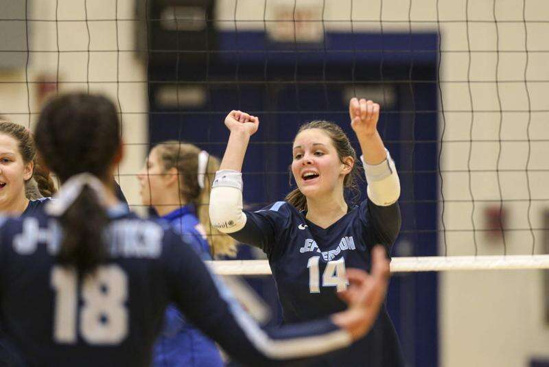 Head coaches in quarantine, but Jefferson rolls in regional volleyball quarterfinals anyway