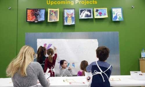 KidCreate Studio in Cedar Rapids: Creating a place for art…