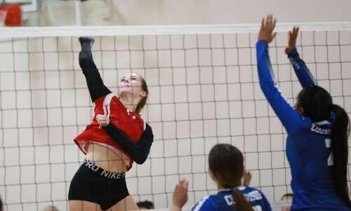 Pekin outlasts Sigourney in volleyball battle