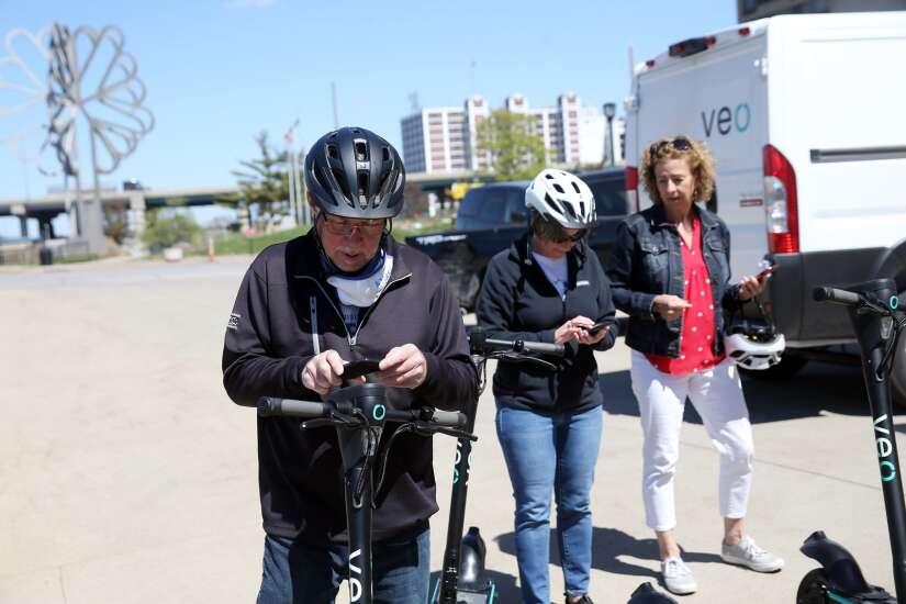 Cedar Rapids bike share program returns for third year