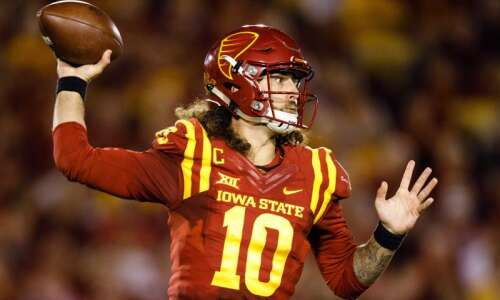 Iowa State quarterback Jacob Park asks for release