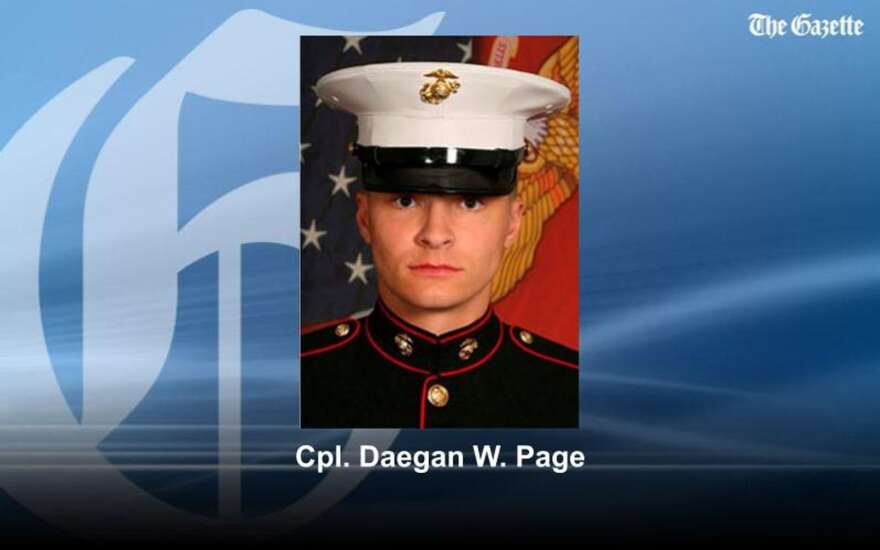 Marine born and raised in Red Oak, Iowa, among those killed in Afghanistan bombing
