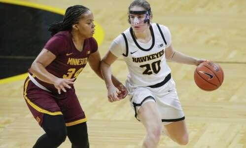 Plenty of chances now to see Iowa women's basketball on…