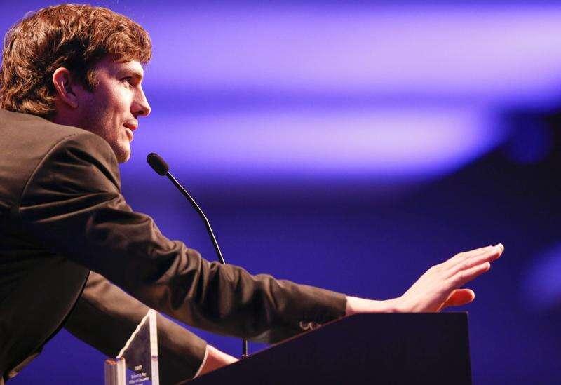 Ashton Kutcher tipped Iowa off to coronavirus testing contractor