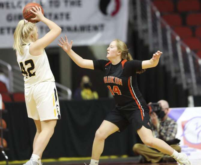 Photos: Class 3A Girls' state basketball quarterfinals: Waukon vs. Clear Lake
