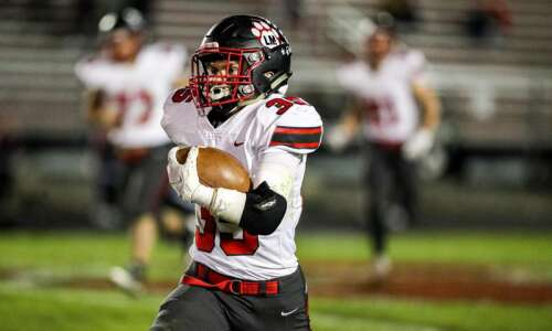 Muszynski remains one of Linn-Mar's top tacklers after position move