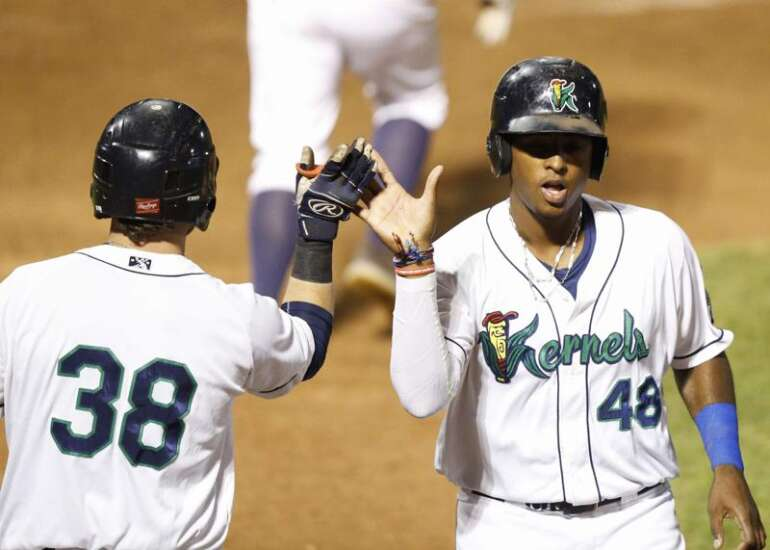 Cedar Rapids Kernels sweep Kane County, move on to MWL Western Division finals