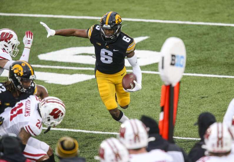 Ihmir Smith-Marsette: 1st Ferentz Iowa WR drafted in 1st 5 rounds