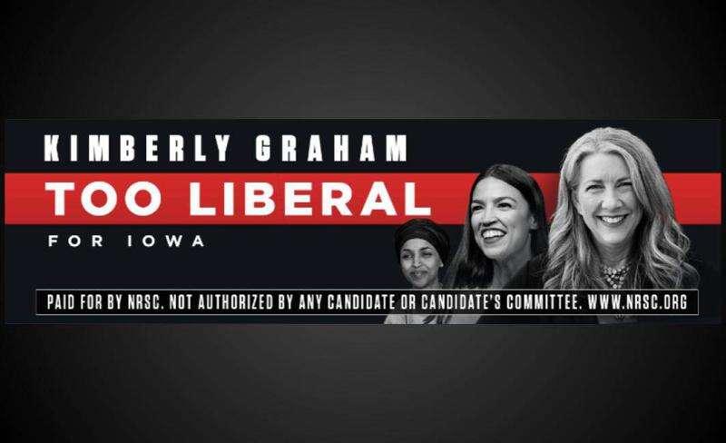 GOP trying to link Iowa Senate hopeful to controversial congresswomen