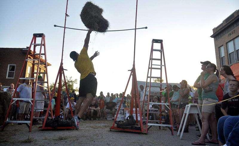 Former Hawkeye Matt Kroul organizing popular hay bale toss