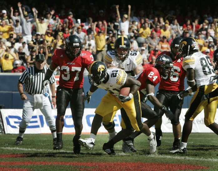 It's nice that Iowa plays at Soldier Field, but it shouldn't always be