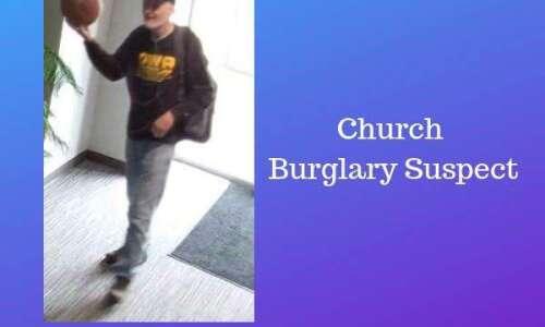 North Liberty Police search for suspect in church burglaries