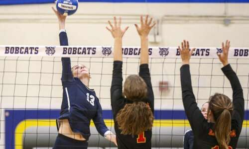 Gazette area volleyball Super 10: Xavier moves back to No.…