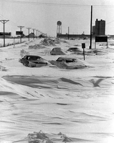 Time Machine: The April 1973 blizzard