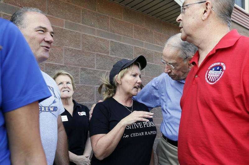 Blum, Loebsack all for expedited Corps review of Cedar Rapids flood project