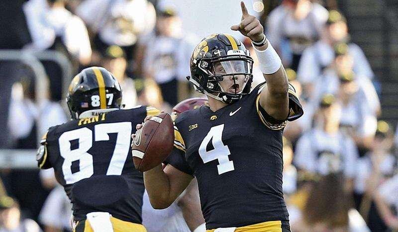 Light at the end of the tunnel for Iowa's passing game or is that a train?
