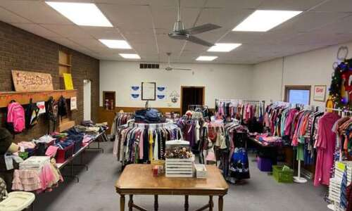 Teen with autism and his mom open thrift shop in…