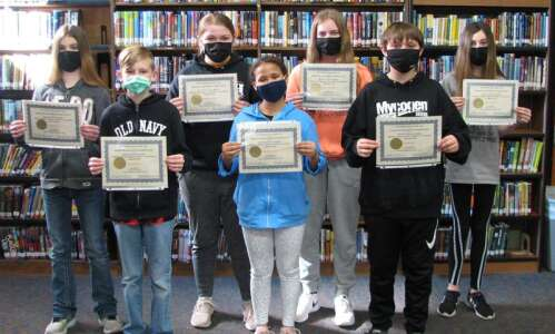 Fairfield Middle School names Students of the Month for February