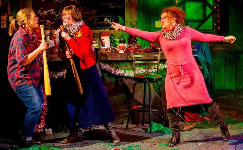 Review: Spice is naughty and nice in 'Rotten Eggnog'