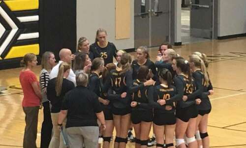 No. 9 CPU sweeps third-ranked Independence in Wamac volleyball opener