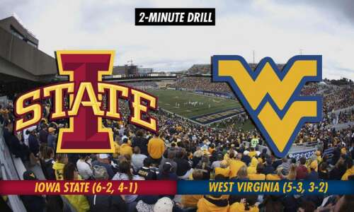 2-Minute Drill: Iowa State Cyclones at West Virginia Mountaineers