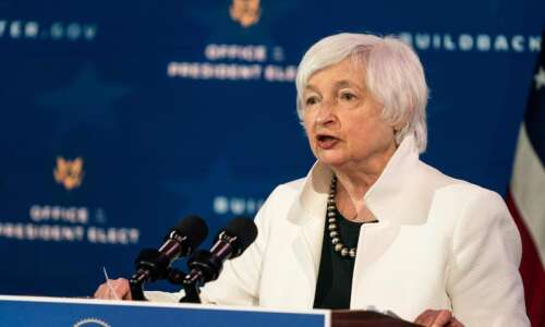 Yellen pushes $1.9 trillion COVID-19 relief package