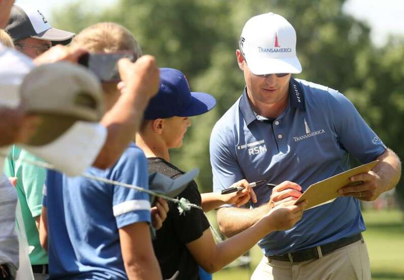 Zach Johnson Foundation Classic still on, but not open to public