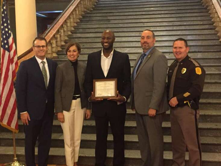 Cedar Rapids man among 20 Iowans honored for saving lives