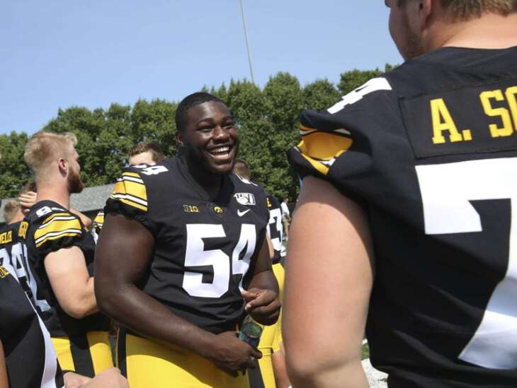 Daviyon Nixon works through learning disability, sticks with Iowa and emerges as an NFL prospect