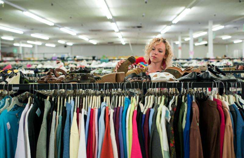 Not-for-profit thrift stores growing