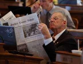 Iowa's No. 7 'worst legislator' says he will work harder to be No. 1
