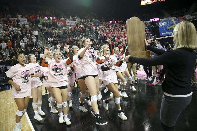 Photos: Sergeant Bluff-Luton vs. Western Dubuque, Iowa Class 4A state volleyball tournament championship