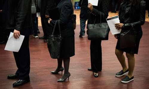 Iowa sees rise in new unemployment claims, decrease in continuing…