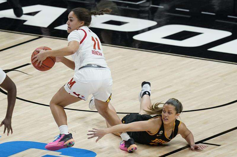 Maryland runs past Iowa for Big Ten women's basketball tournament title