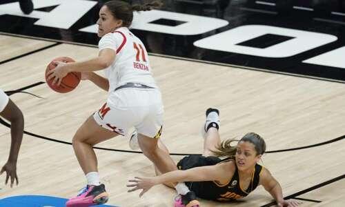 Maryland runs past Iowa for Big Ten women's basketball tournament…