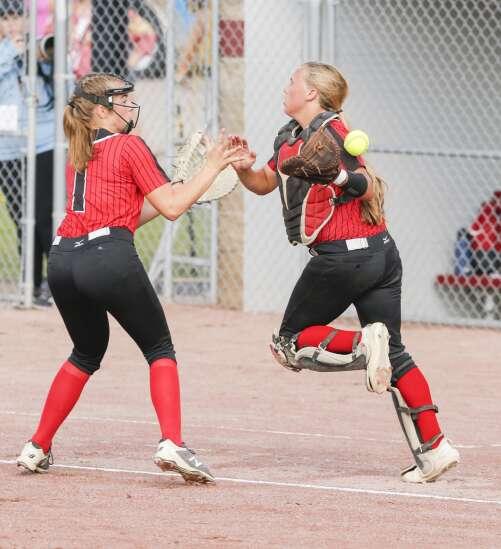 Photos: Lisbon vs. Newell-Fonda, Class 1A Iowa high school state softball championship