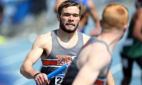 Drake Relays: Wartburg's Dallas Wright captures CD men's 400-meter hurdles