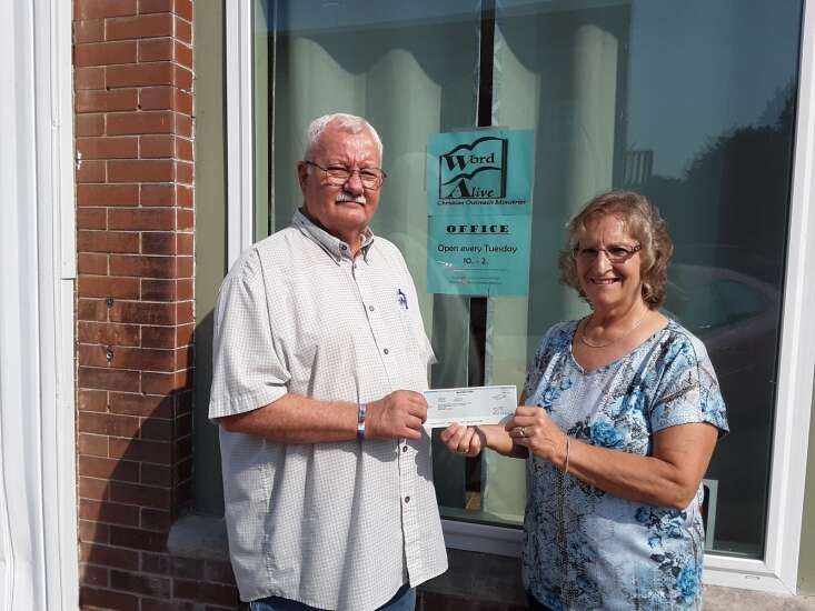 Men's Refuge House in Olds to receive donation