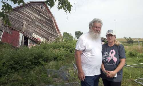 Derecho destruction remains unchanged on family farm one year later