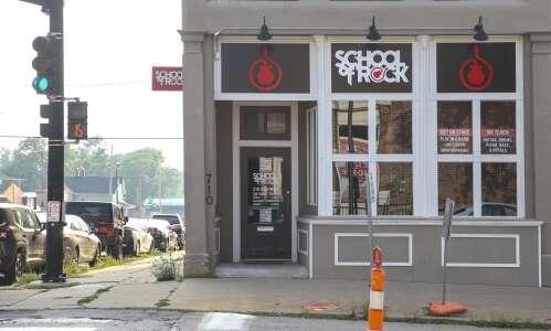 School of Rock tunes up in Marion