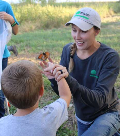 Naturalist Brittney Tiller turned her passions into a career