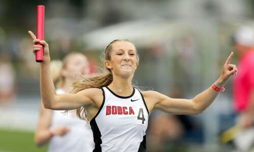 Western Dubuque's Audrey Biermann is the star of the show