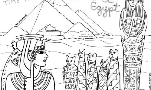 Color in these ancient Egyptian pyramids